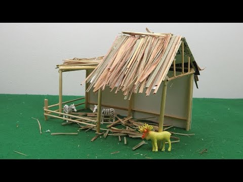 DIY Horse Stable Toy | Mini Animal House | Easy Craft To Do