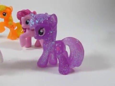 My Little Pony MLP Blind Bag Lot of 10 Glitter Ponies For Sale