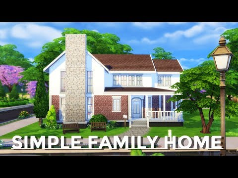 Sims 4 | House Building | Simple Family Home