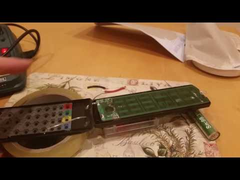 Fixing remote after leaking batteries destroyed terminals