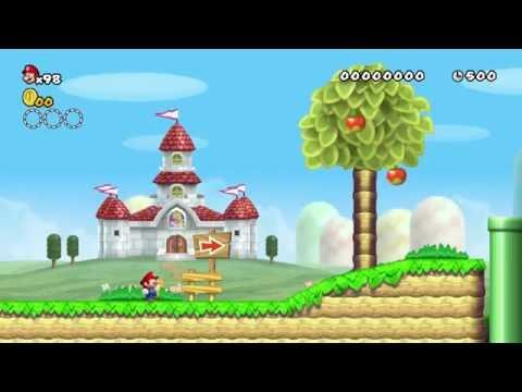 New Super Mario Bros. Wii - Custom Level: [W1-1]