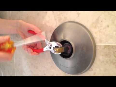 Kohler shower handle repair