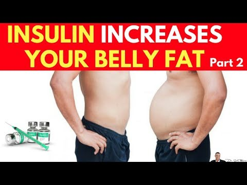 🍽️ Clinically Proven Fact: Insulin Increases Your Belly Fat Part 2