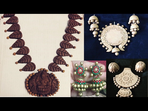 Terracotta Jewellery | Terracotta Designs | how to make terracotta jewellery at home |Womens Special