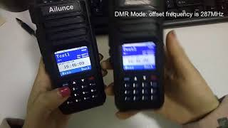 The Ailunce HD1 Double slot & Retevis RT82 DCDM - PakVim net