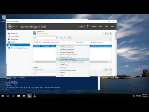 Server 2016 And 2012 R2 - Reverse DNS Zone Creation