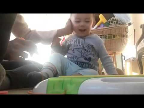 Gifted baby doing his ABC at 1 year 5 months!