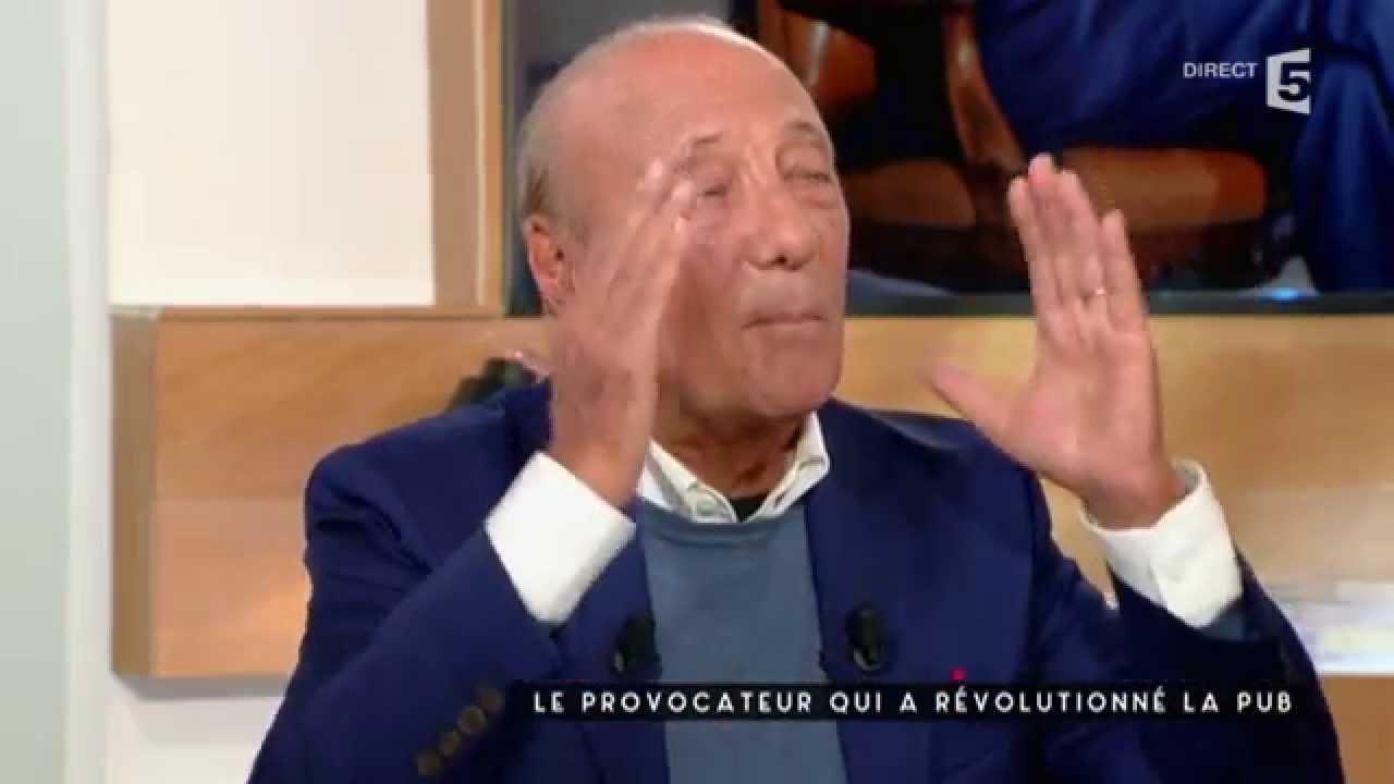 Seguela, le provocateur qui a révolutionné la pub - C à vous - 15/09/2015