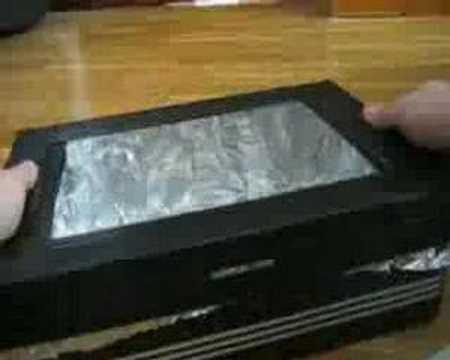 Kid's Solar Oven