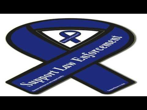 2 Pack of Light Blue Ribbon Autism Awareness Car Magnets