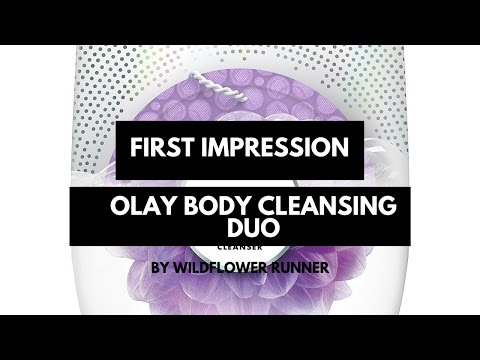 First Impression: Olay Body Cleansing Duo