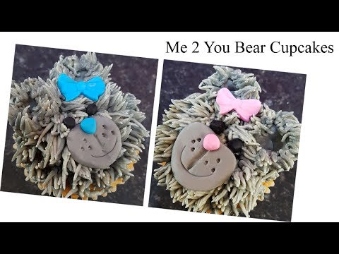 Me 2 You Bear Cupcakes - Step by Step