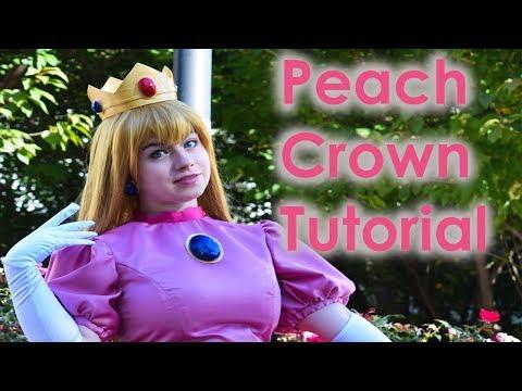 Princess Peach Cosplay Tutorial Part 2: Accessories [FINAL]