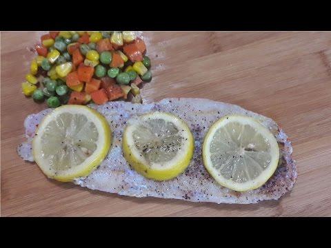 #35: Grilled Fish Fillet In Foil Wrap