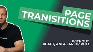 Jetlag - Pixi js and GSAP Page Transitions Deconstructed - PakVim