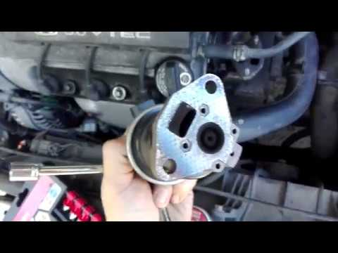 Replace or clean egr Honda accord v6 1998-2002 j30a1