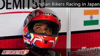 Wow! 2 Indian Bikers Racing in Japan | Hindi | MotorOctane
