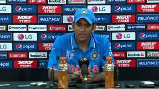 Dhoni Emotional crying speech after losing match aganist Australia World cup