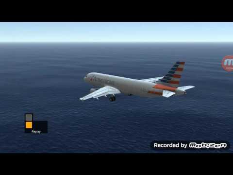 Landing a a320 at st.barth .infinite flight