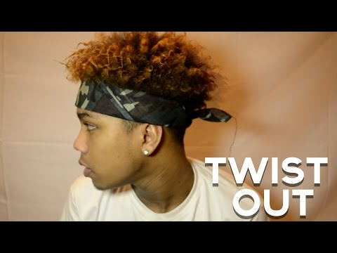HOW TO DO BLACK MEN'S TWIST OUT TUTORIAL | EASY |