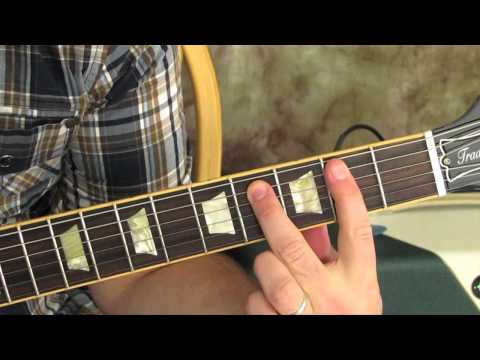 Guitar Lessons - CAGED Guitar Lesson - Rhythm Guitar Skills - Guitar Chords - Gibson Les Paul