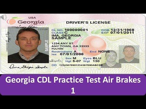 Georgia CDL Practice Test Air Brakes 1