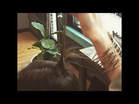 cowlicks? hair volume? back combing? SOLUTION hair tutorial