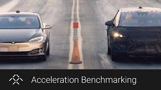 FF 91 Prototype v. Tesla Model S P100D | 0-60 MPH Results