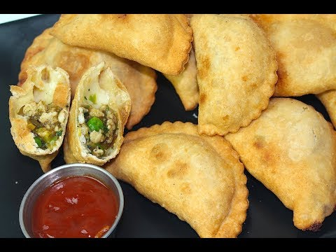 CHICKEN HALF MOON RECIPE *COOK WITH FAIZA*