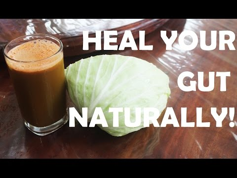 How to Heal a Leaky Gut with Cabbage Juice Recipe - ulcers / colitis
