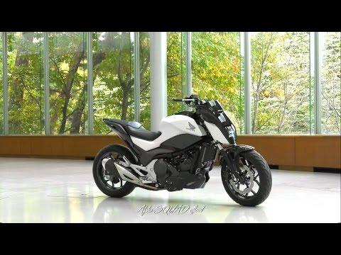 Honda Riding Assist - Honda's Self Balancing Motorcycle / Honda's Concept Bike