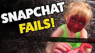 SNAPCHAT FAILS!   Funny Social Media Fail Videos   2019