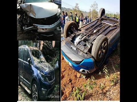 Tata Cars Best Build Quality  Accidents  Nexon, Hexa, Tiago