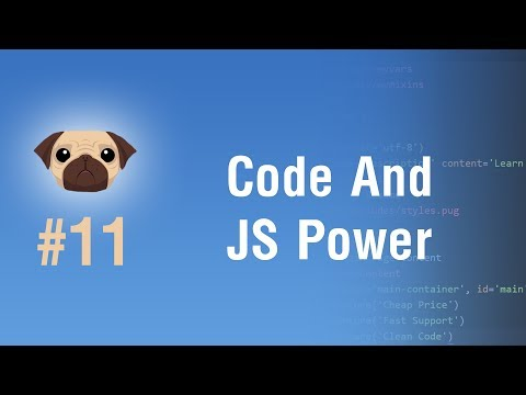 Learn Pugjs in Arabic #11 - Code And JavaScript Power