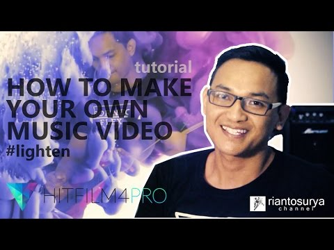 TUTORIAL  make your own music video using a hitfilm