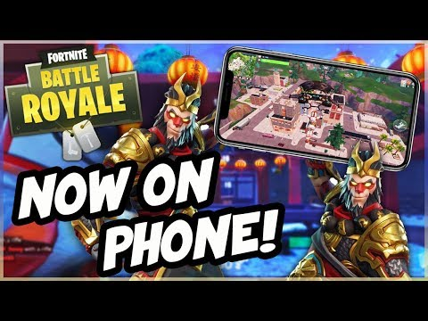 How To Play Fortnite on Any Phone! (NEW Fortnite Battle Royale Mobile Gameplay Access)