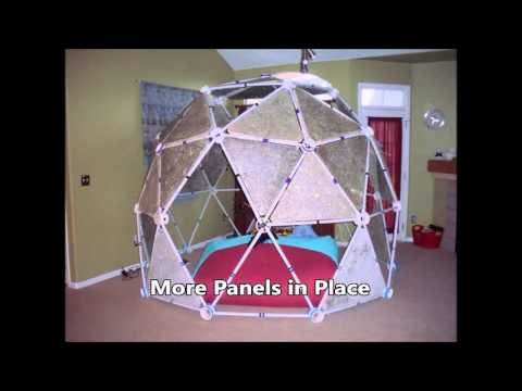 3v PVC Geodesic Dome