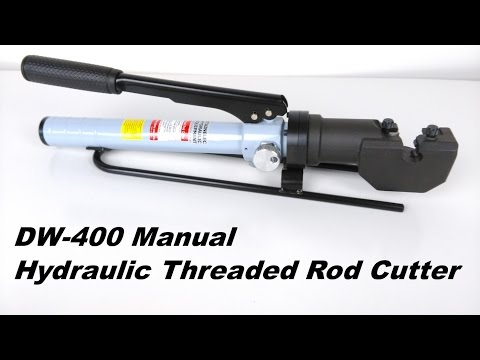 DW-400 Manual Threaded Rod Cutter from Stainelec Hydraulic Equipment