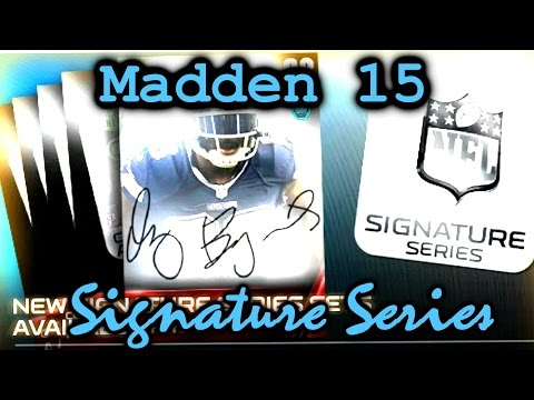 MUT 15 Signature Series Promo Madden Ultimate Team 15 Tips