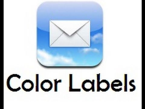 Add Labels to Mail App For Multiple Accounts - Color Mail Labels