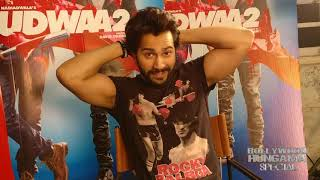 Varun Dhawan Shares The AMAZING Exclusive Sneak Peak Of Salman Khan In Judwaa 2