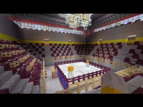 Minecraft Xbox - Boxing Ring - SPANKLECHANK's World Tour - Part 11