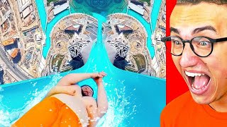 Reacting To THE FUNNIEST WATER PARK FAILS!
