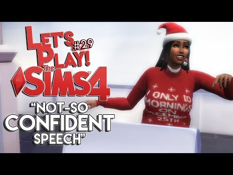 Not So Confident Speech | The Sims 4 | The Famlay LP #29