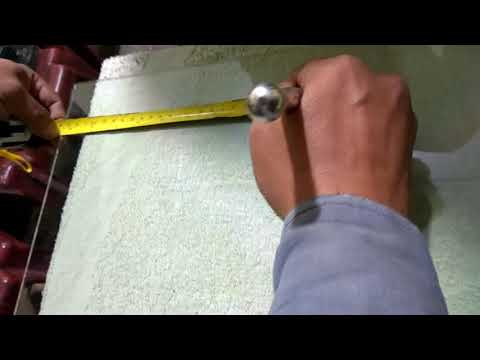 How to cuting small plate glass  Watch all in one