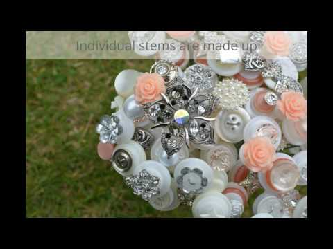 Button Bouquet Creation