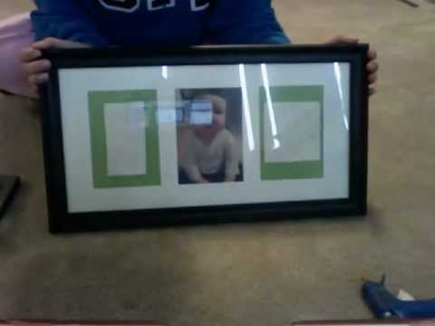 baby hand/foot print frame