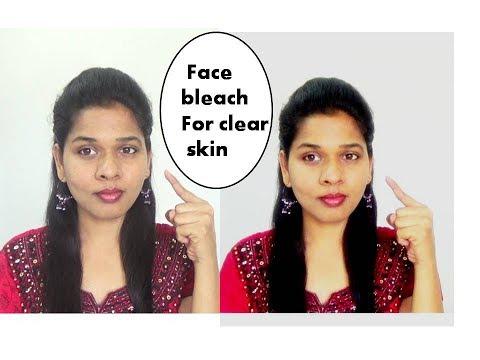 Homemade face bleach to remove sun tan , dark spots on face |starnaturalbeauties