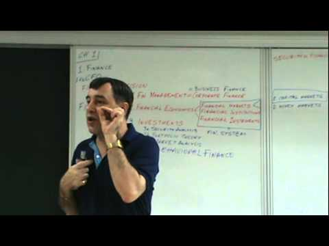 Financial Management - Lecture 01