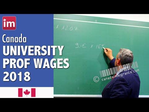 University Professor Salary in Canada   Jobs in Canada (2017)